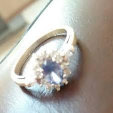 cincin emas putih cincin emas putih s925 luxury accessories on carousell