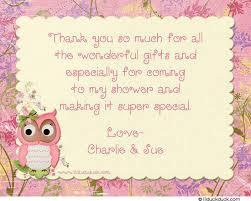 baby shower thank you baby shower thank you messages baby shower ideas