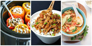 Healthy Menu Ideas For Dinner 50 Healthy Crock Pot Recipes Easy Light Slow Cooker Dinner Ideas