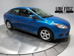 2014 ford focus st blue 2014 ford focus se st louis mo chesterfield o fallon county