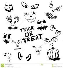 Halloween Monster Faces by Halloween Faces Cartoon Vector Cartoondealer Com 89333423