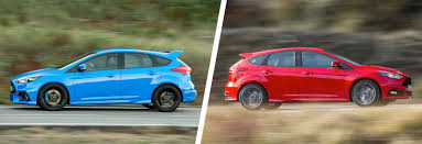 difference between ford focus models ford focus rs vs focus st hatches compared carwow
