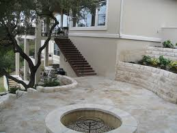 Limestone Patios Paver Patio As Patio Cushions And Lovely Crushed Limestone Patio