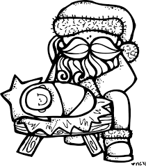 baby jesus coloring page 248 best to color images on pinterest coloring digi