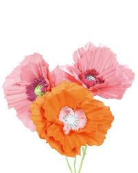 Poppy Home Decor by Giant Paper Poppy Flower Decoration U0026 Video Martha Stewart