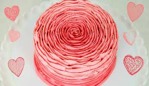 Decorating Cakes Pretty Buttercream Rose Cake Decorating Cake Style Youtube