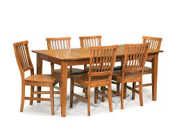 home styles arts u0026 crafts cottage oak 7 piece dining set 5180 319