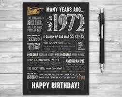 45th birthday card etsy