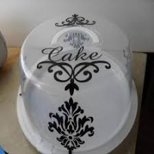 personalized cake plate 30 best cake carriers images on cake carrier cake