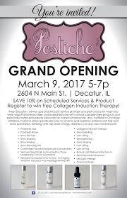 postiche grand opening u2022 march 9 5 7p u2013 postiche