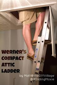 installing a werner compact attic ladder u0026 review