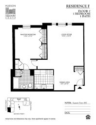 3 Bedroom 2 1 2 Bath Floor Plans Floor Plans Of Hudson Square South Apartments In Hoboken Nj