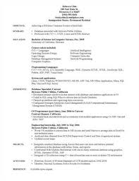 Sample Resume For Lecturer by Fascinating Resume Samples For Lecturer In Computer Science 56 In
