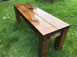 Farm Benches - rustic bench farm bench farmhouse bench farm table bench wood