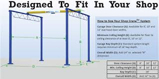 Overhead Door Clearance Free Standing Bridge Cranes Overhead Bridge Crane And Hoist