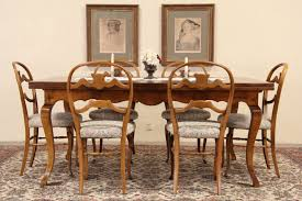 Baker Dining Room Table And Chairs Vintage Baker Dining Room Table Dining Room Tables Ideas