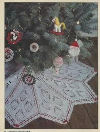 free vintage crochet pineapple christmas tree skirt pattern