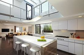 cuisine moderne ouverte sur salon amenagement cuisine salon ravissant salon et cuisine moderne idées