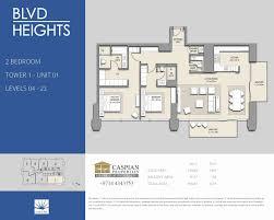 boulevard heights floor plans