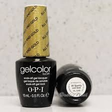 opi gelcolor mariah carey hl e49 all sparkly and gold 2013 holiday
