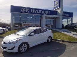siege hyundai hyundai magog used 2014 hyundai elantra for sale in magog