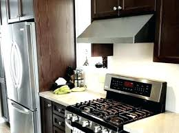how to install a range hood under cabinet under cabinet range hood installation series stainless steel under