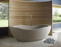 Stone Bathroom Designs Natural Stone Bathtub Home Decor