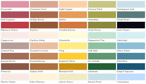 laura ashley color collection samples swatches paint chips