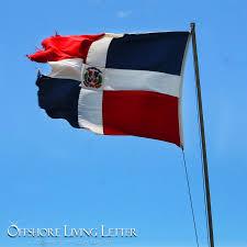Domenican Flag Dominican Republic Residency Raises Flag Planting Options