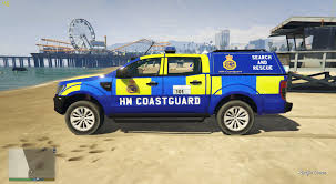 Ford Ranger Truck Mods - hm coastguard ford ranger gta5 mods com