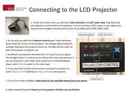 projector controls it services simon fraser university