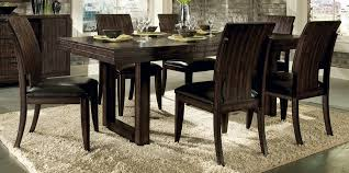 rectangle kitchen table and chairs amazing chic design rectangle dining room table all dining room
