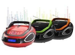 cd player für kinderzimmer hyundai musikanlage cd mp3 player radio usb boombox rot