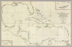 Gulf Of Mexico On Map by A General Chart Of The West Indies And Gulf Of Mexico David