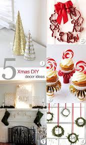 diy home christmas decorations crashingred 5 diy christmas decor ideas crashingred