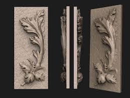 3d print model acanthus ornament cgtrader