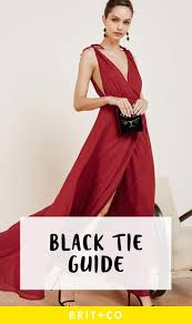Black Tie Stand Mixer The U0027s Guide To Black Tie Dress Codes Brit Co