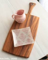 cutting board plate bought and stole cheese board plate and jug two studio