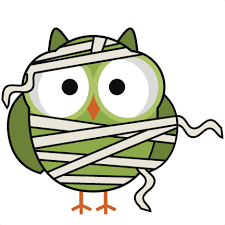 halloween mummy owl svg cutting files for scrapbooking halloween