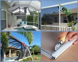 sarasota bradenton u2013 pool cage u0026 patio rescreening or repair