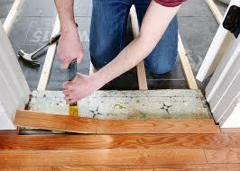 installing hardwood floors when your floor isn t level