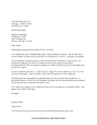 Business Letter Close by Best Photos Of Personal Business Letter Format Samples Personal