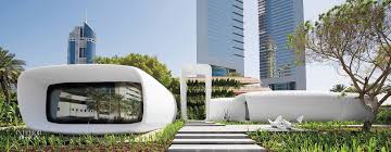 first 3 d printed office building rises in dubai
