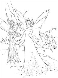 tinkerbell queen clarion coloring pages cartoon coloring pages