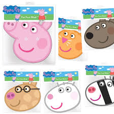 peppa pig party peppa pig friends mask pack peppa pig party supplies party ark