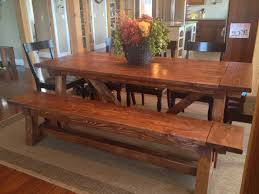 Dining Table Bench You Can Look Farmhouse Table And Bench Set You Ana White 4x4 Truss Beam Table And Bench Diy Projects