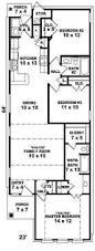 Long Narrow Floor Plans House Plan W3961 Detail From Drummondhouseplans Com Narrow Lot