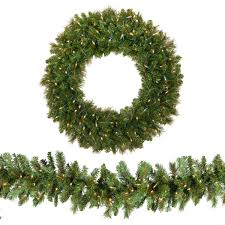 Indoor Wreaths Home Decorating by Christmas Wreaths And Garland