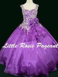 design dresses rosie lr2159 organza gown pageant dress pageantdesigns