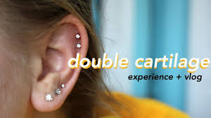 where to get cartilage earrings cartilage piercing vlog experience